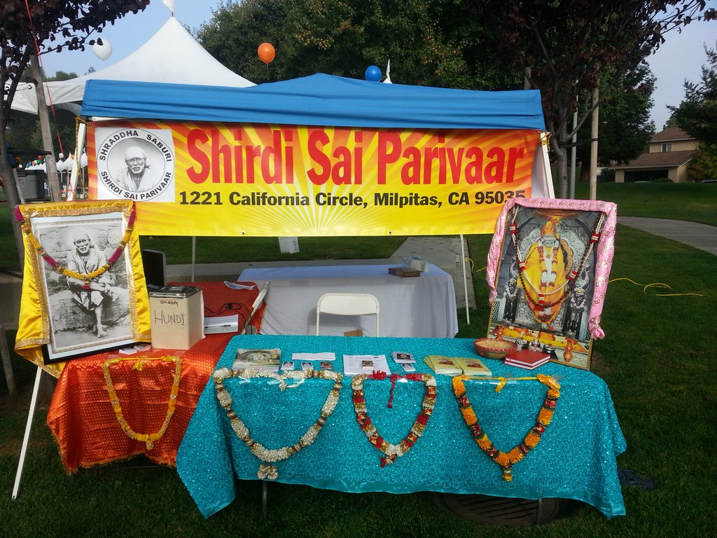SSP Booth at Diwali Festival 2013 - Cupertino,CA