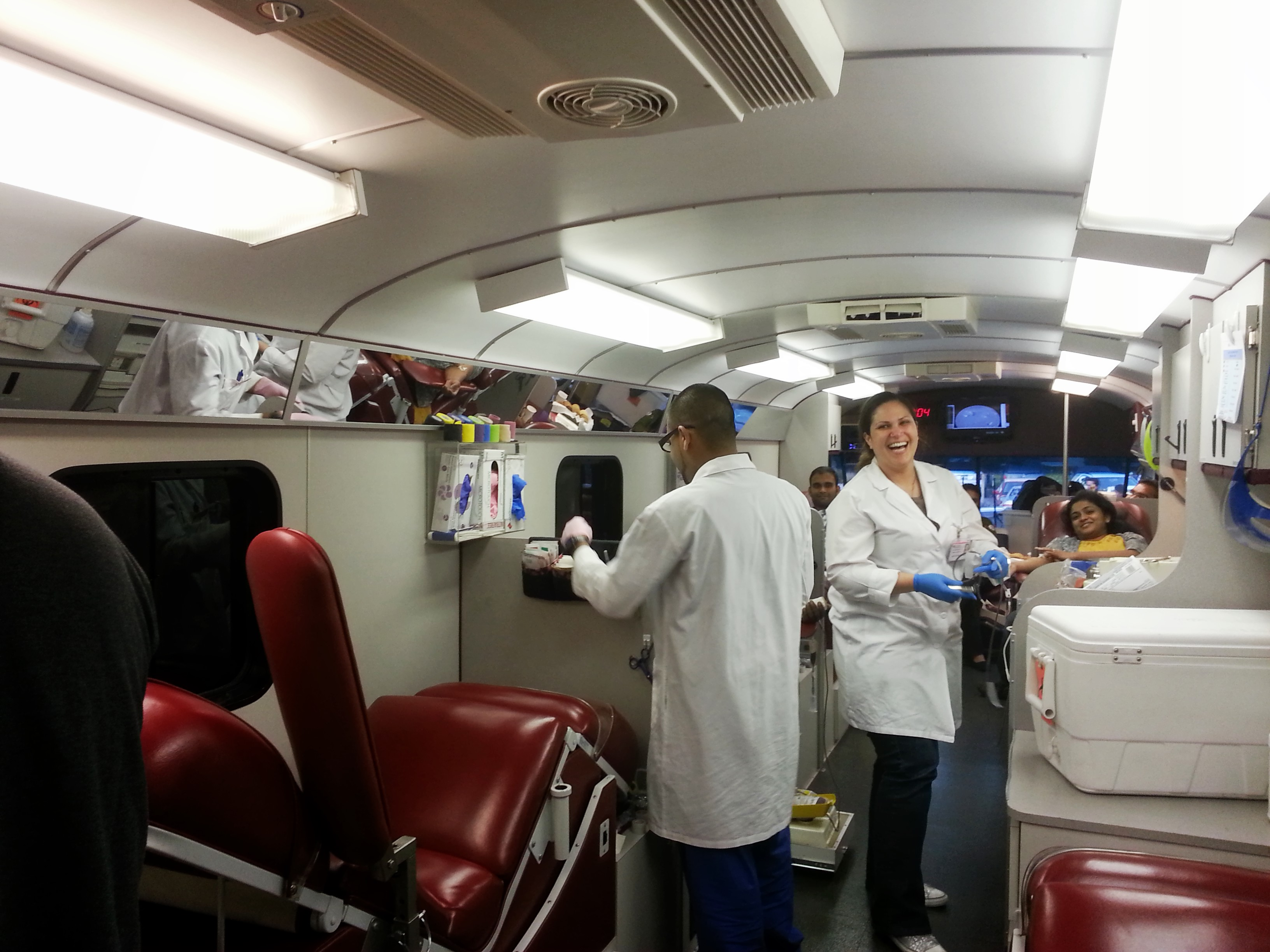 Blood Donation Drive with Stanford Medical Center