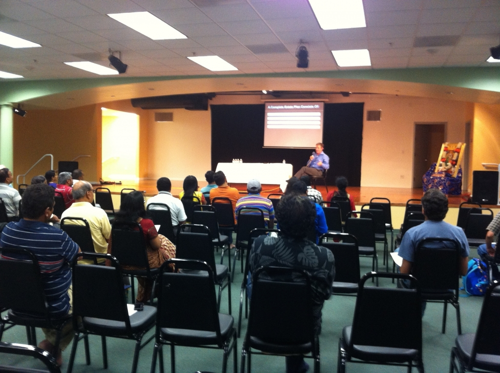 Seminar on Estate Planning